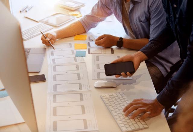 בניית אפליקצייה ועיצוב