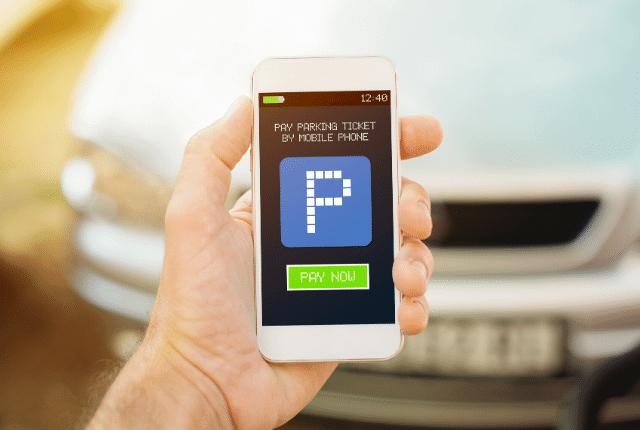 אפליקציית ניהול חניון, תשלום חניה